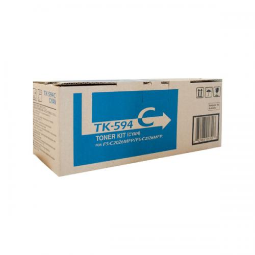 Kyocera TK-594C Cyan Toner