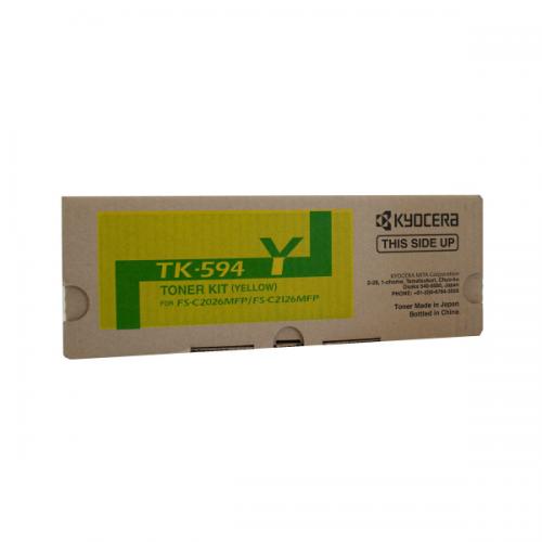 Kyocera TK-594Y Yellow Toner