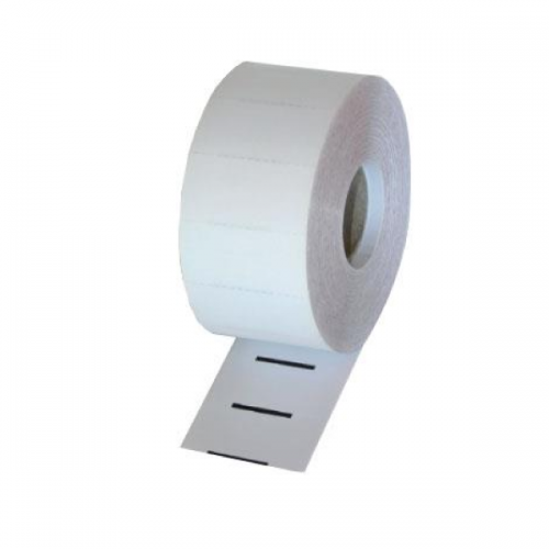 Thermal Cardboard Single Shelf Tickets White