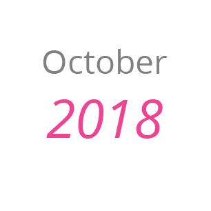 October 2018 news